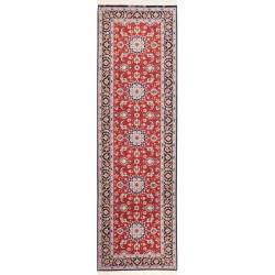 Isfahan Carpet With Weft in Silk 256x76 cm
