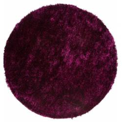 Carpet shaggy Diamond 700 violet / black