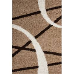 Carpet Shaggy Twister 600 beige