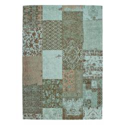 Tappeto Patchwork Symphony 160 turquoise