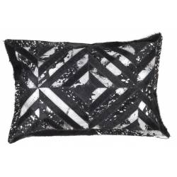 Spark Pillow 410 black / silver 40x60cm