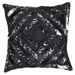 Spark Pillow 410 black / silver 45x45 cm